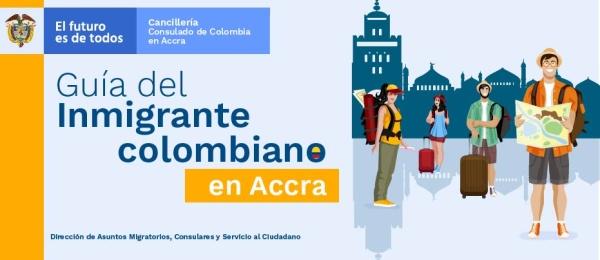 Guía del inmigrante colombiano en Accra